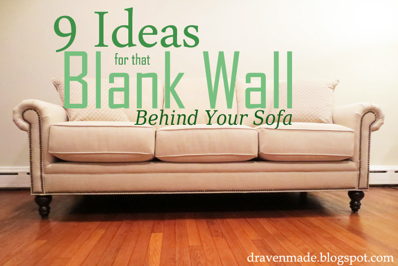 How to decorate a sofa wall hereo sofa for Decor over couch